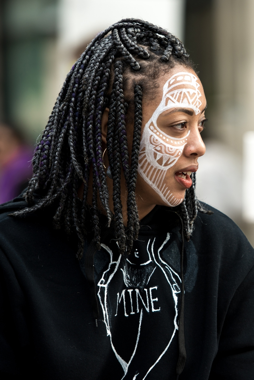 face-paint-protester-color