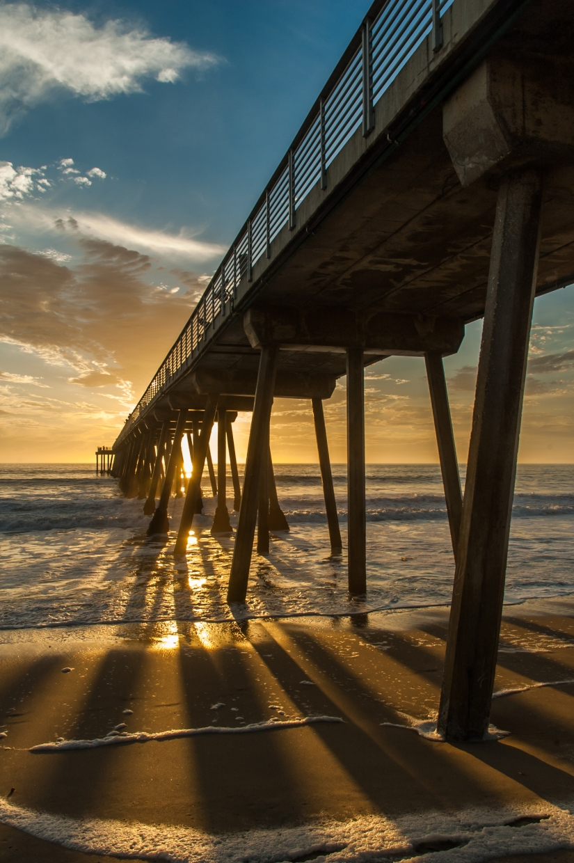 hermosa-beach-pier-sunset-