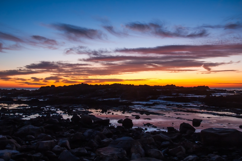sunset-palos-verdes-tide-pools